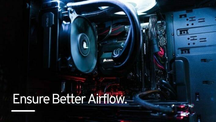 Ensure Better Airflow