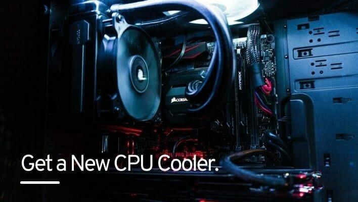 Get a new CPU Cooler